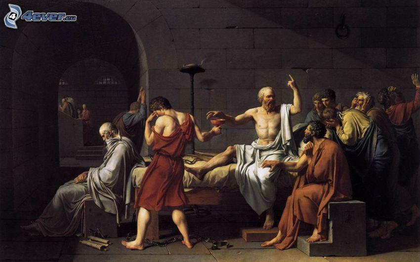 Socrates, obra histórica, dibujo