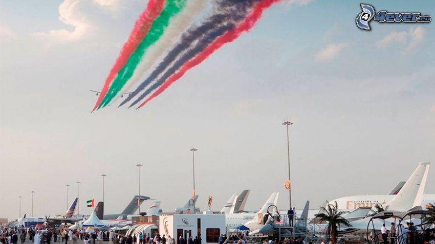 air show, aeropuerto