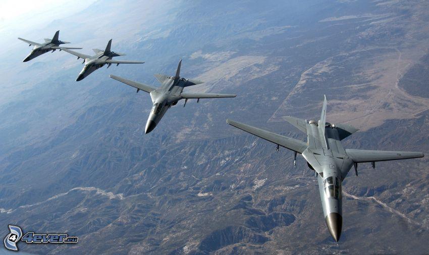F-111 Aardvark, vista