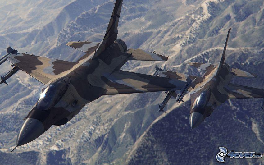 par de F-16