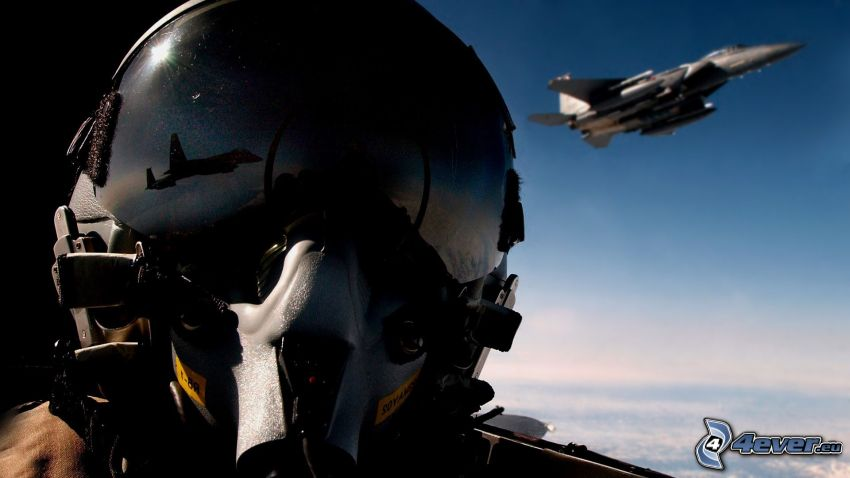 piloto, avion de caza, F-15 Eagle