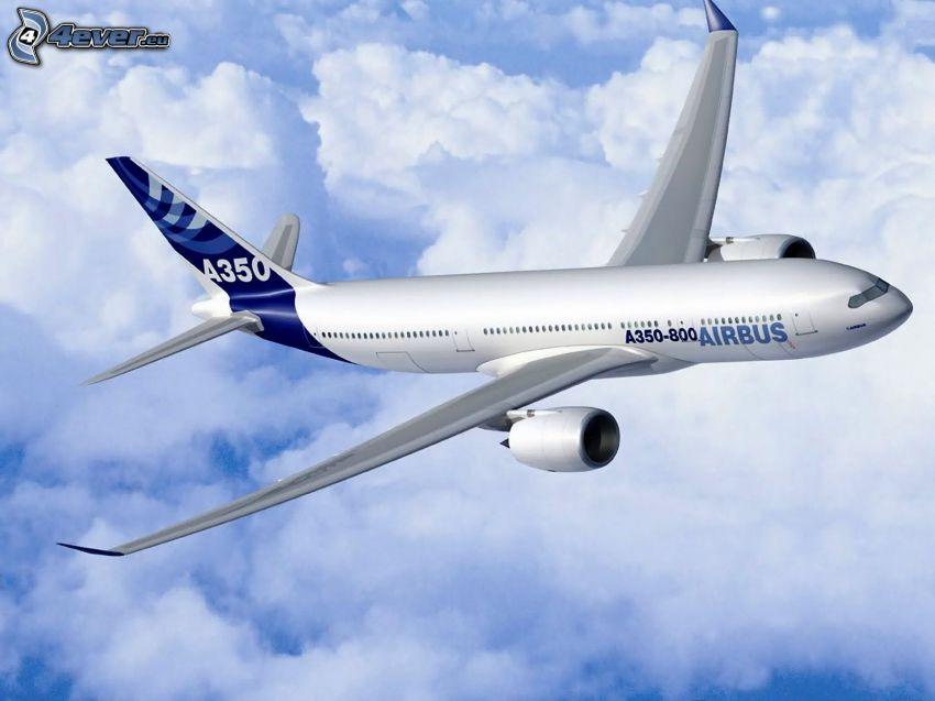 Airbus A350, avión