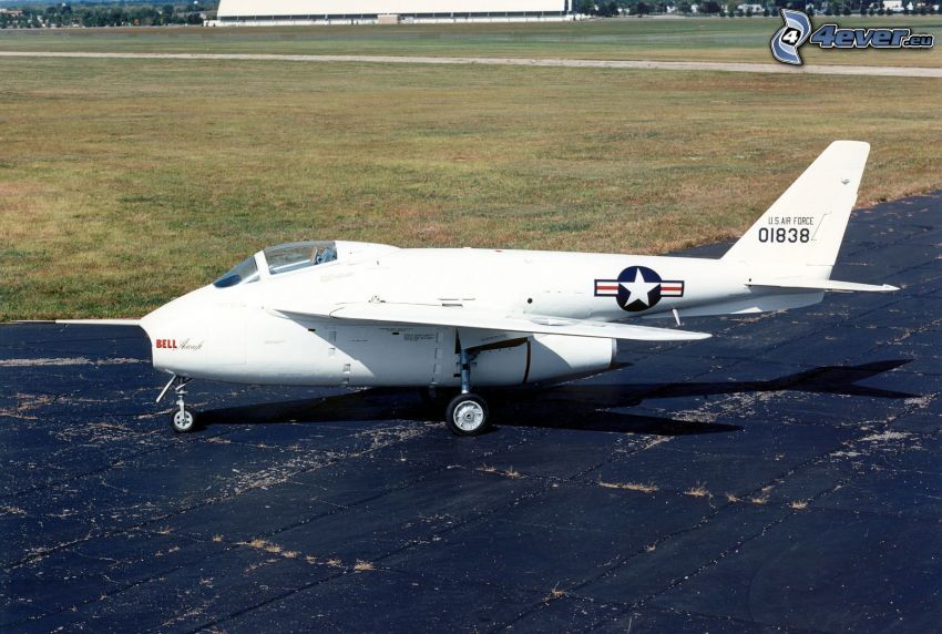 Bell X5, USAF, avión, aeropuerto