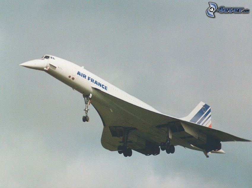 Concorde, Air France, avión