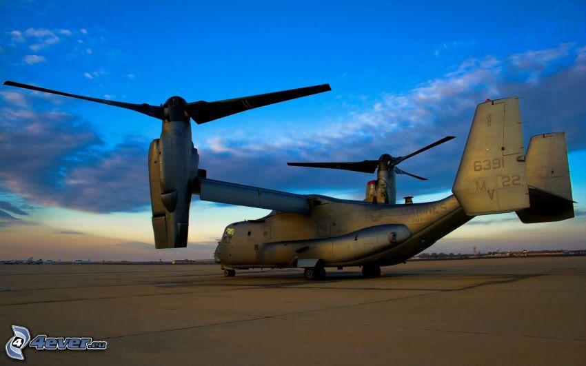 Bell Boeing V-22 Osprey, base