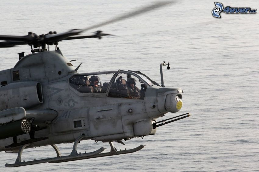 AH-1Z Viper, nivel de agua