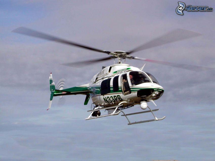 helicóptero, Sheriff