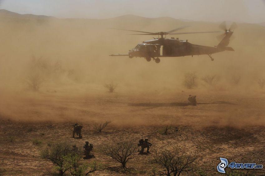 HH-60G Pave Hawk, desierto