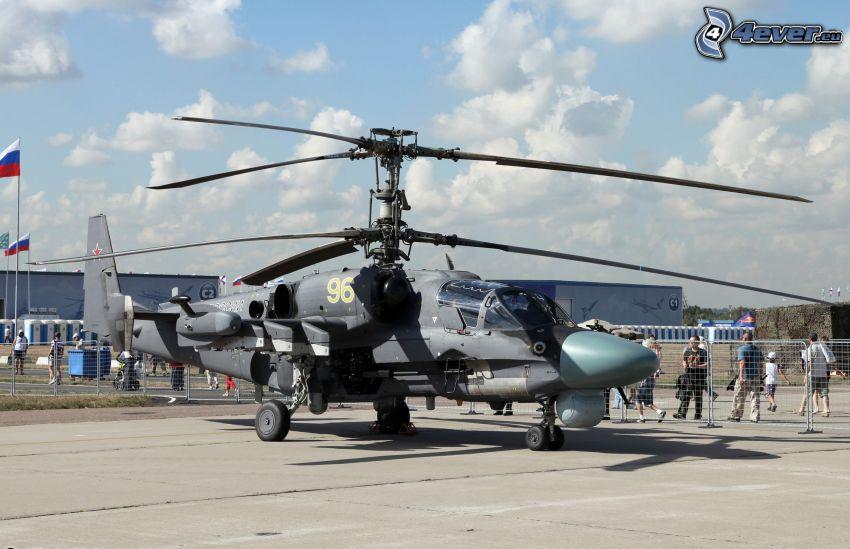 Ka-52, aeropuerto
