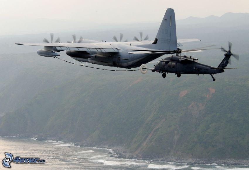 HH-60 Pave Hawk, reabastecimiento en vuelo