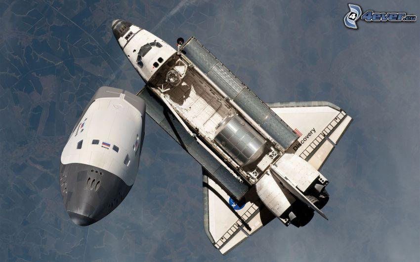 NASA, transbordador espacial Discovery