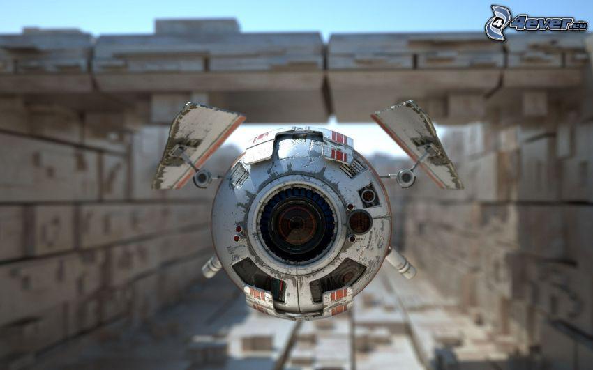 vehículo aéreo no tripulado, ciencia ficción