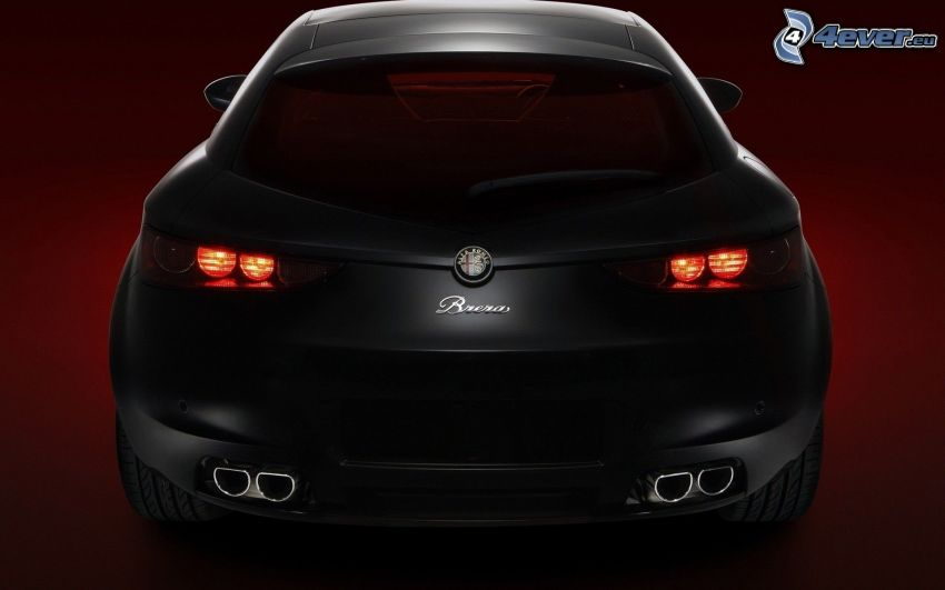 Alfa Romeo, luz trasera