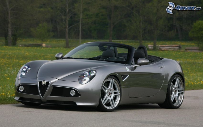 Alfa Romeo 8C, descapotable