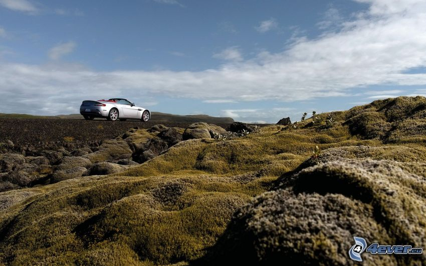 Aston Martin DBS Convertible, paisaje