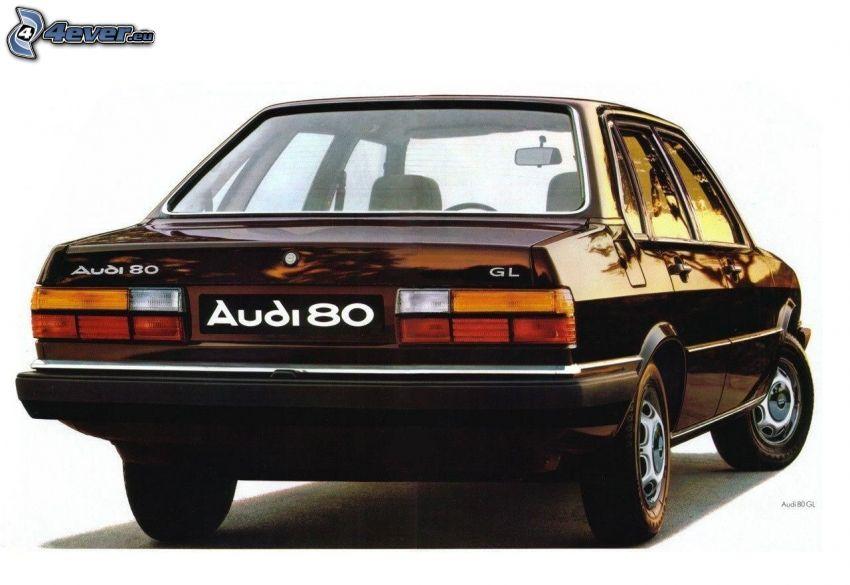 Audi 80, veterano