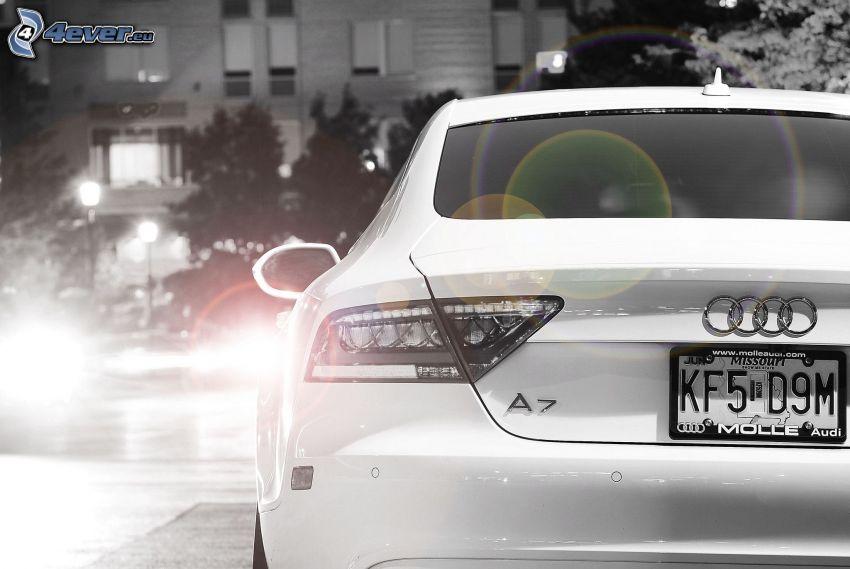 Audi A7, luz trasera