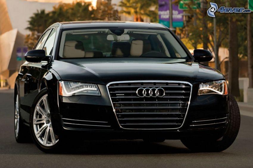 Audi A8, delantera de coche
