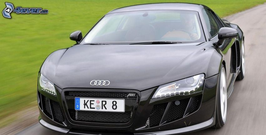 Audi R8, acelerar