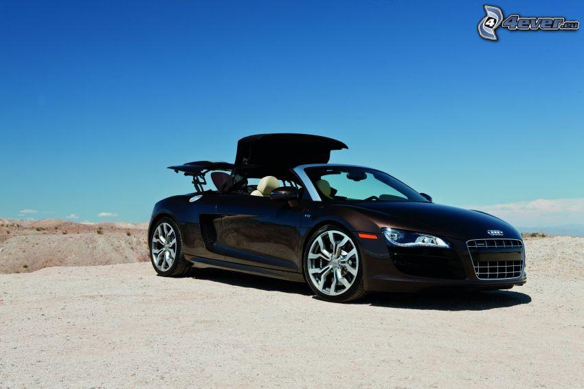 Audi R8, descapotable