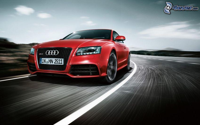 Audi RS5, acelerar