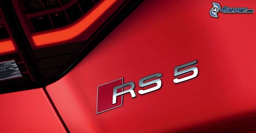 Audi RS5, reflector