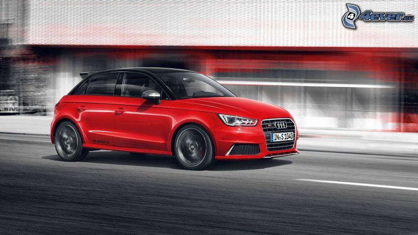 Audi S1, acelerar