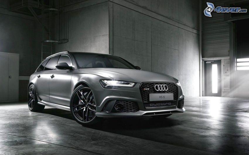 Audi S6, garaje