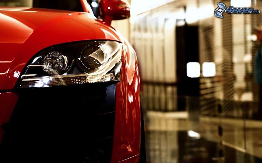 Audi TT, faro delantero