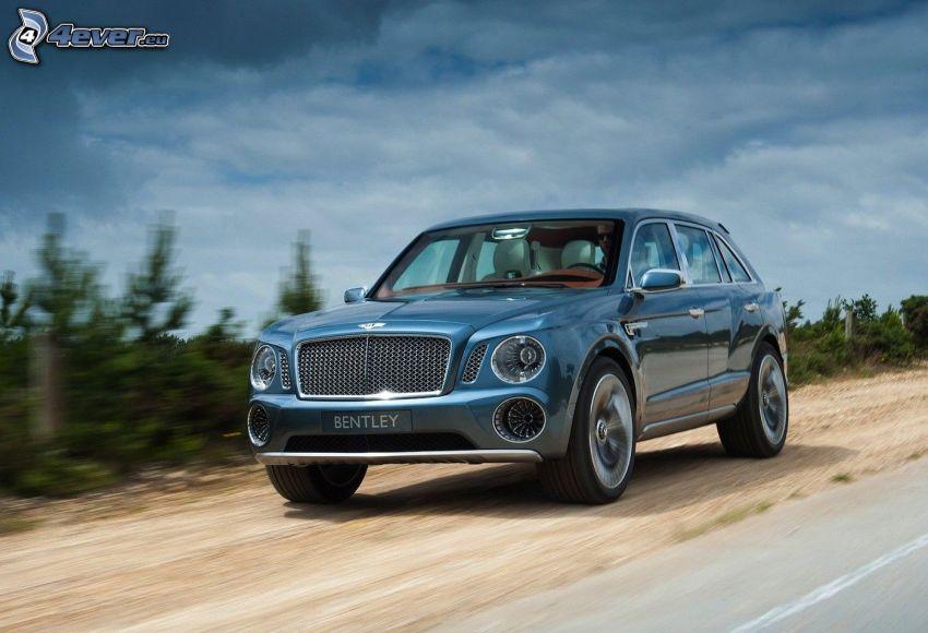 Bentley EXP 9F, acelerar