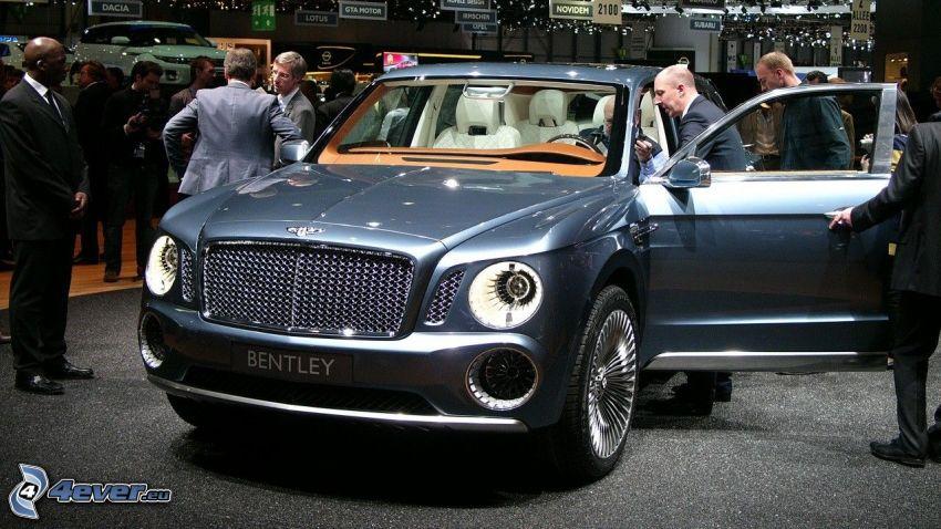 Bentley EXP 9F, exposición, Motor Show