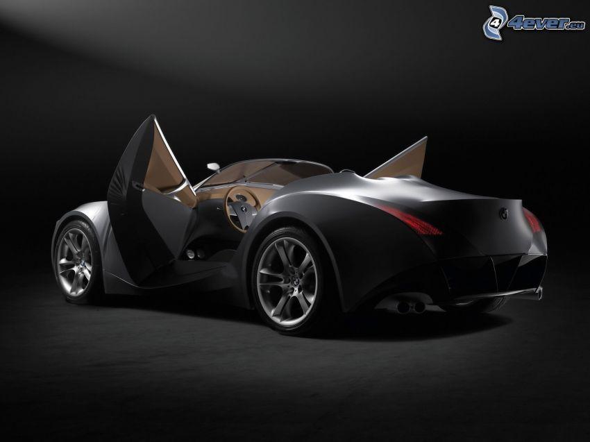 BMW, concepto, puerta, descapotable