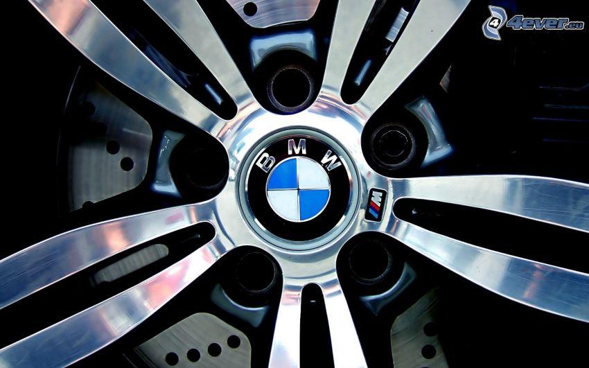 BMW, rueda, disco, freno