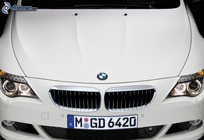BMW 6 Series, delantera de coche