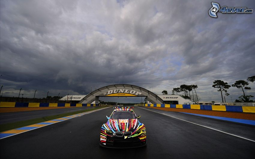 BMW M3, colores, carreras en circuito