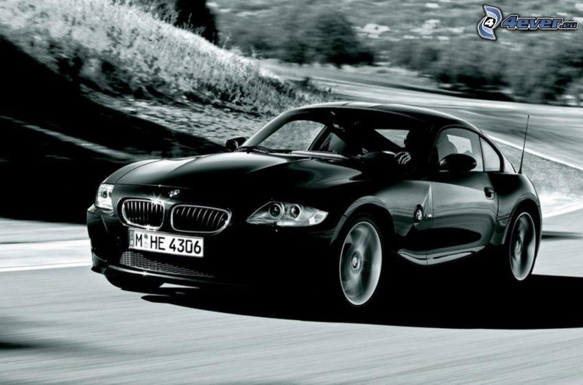 BMW Z4M Coupé, camino