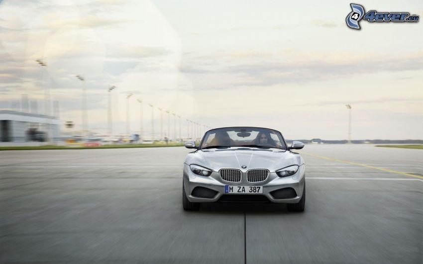 BMW Zagato, descapotable, aeropuerto