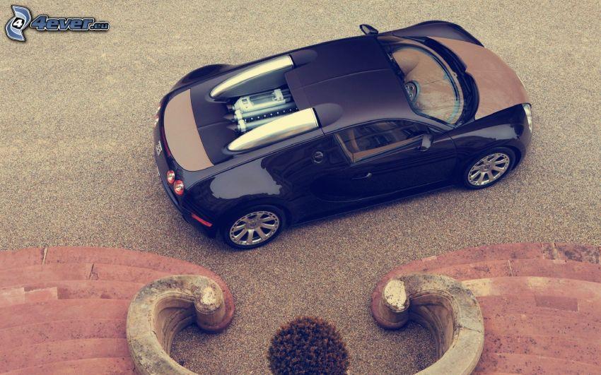 Bugatti Veyron, escalera
