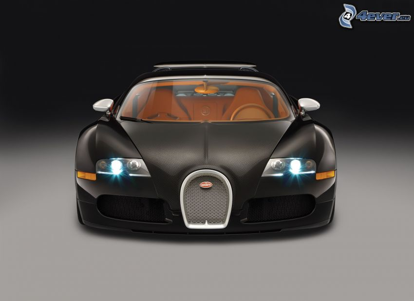 Bugatti Veyron, luces