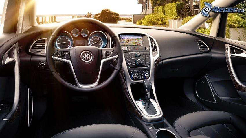 Buick Verano, interior, volante