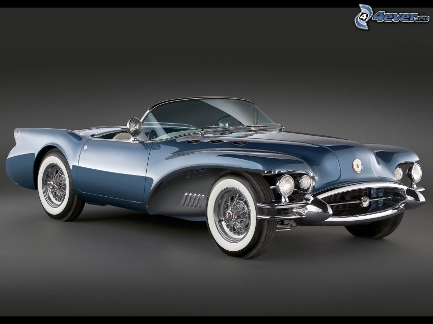 Buick Wildcat, descapotable, veterano
