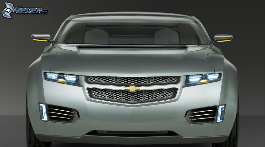 Chevrolet, delantera de coche, concepto