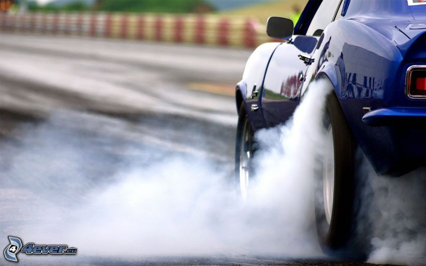 Chevrolet Camaro, burnout