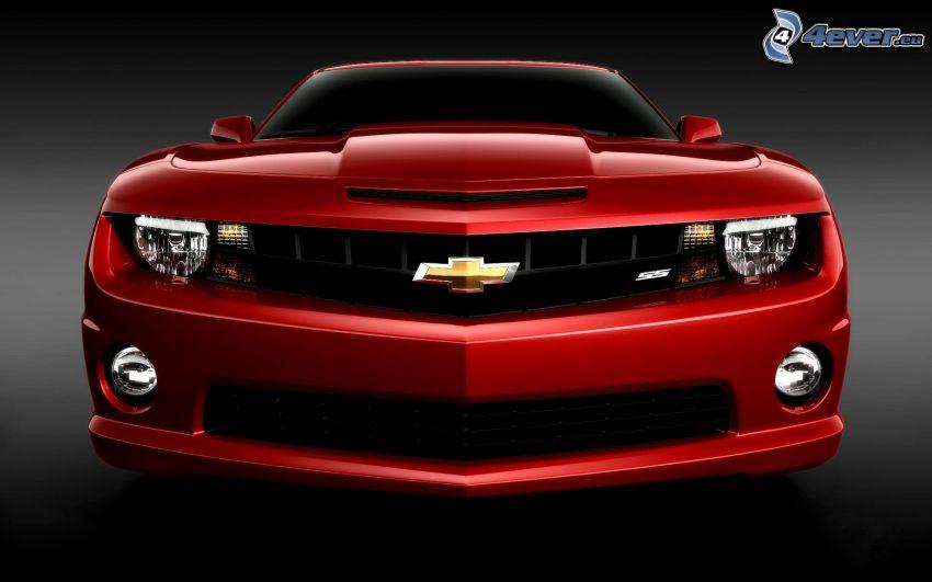 Chevrolet Camaro, delantera de coche