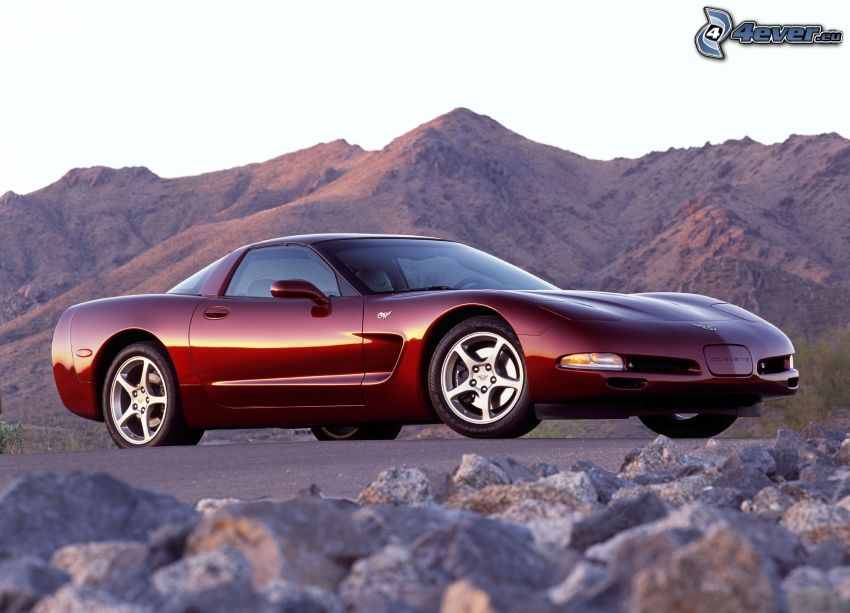 Chevrolet Corvette C5, rocas