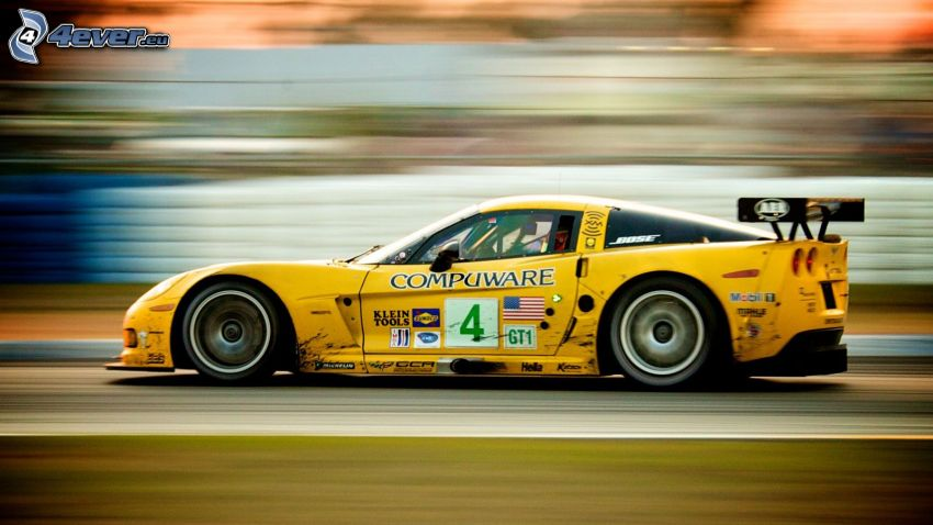 Chevrolet Corvette C6.R GT1, acelerar