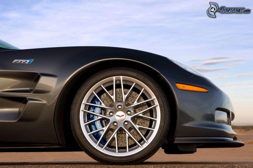 Chevrolet Corvette ZR1, disco, freno