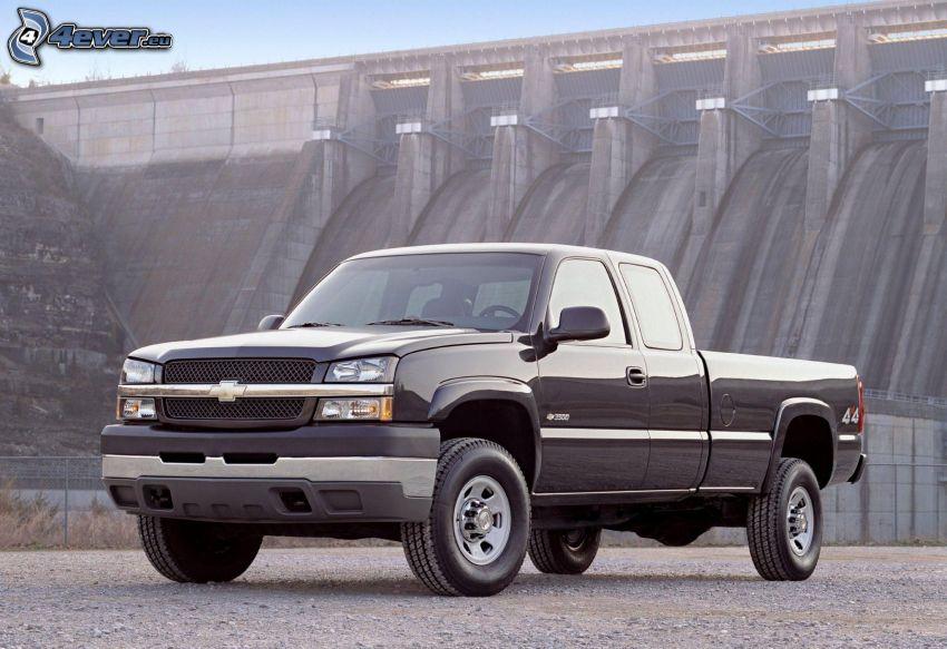 Chevrolet Silverado, pickup truck, presa