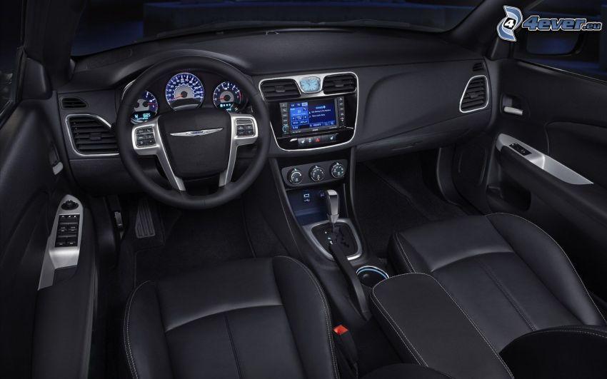 Chrysler 200, interior, volante