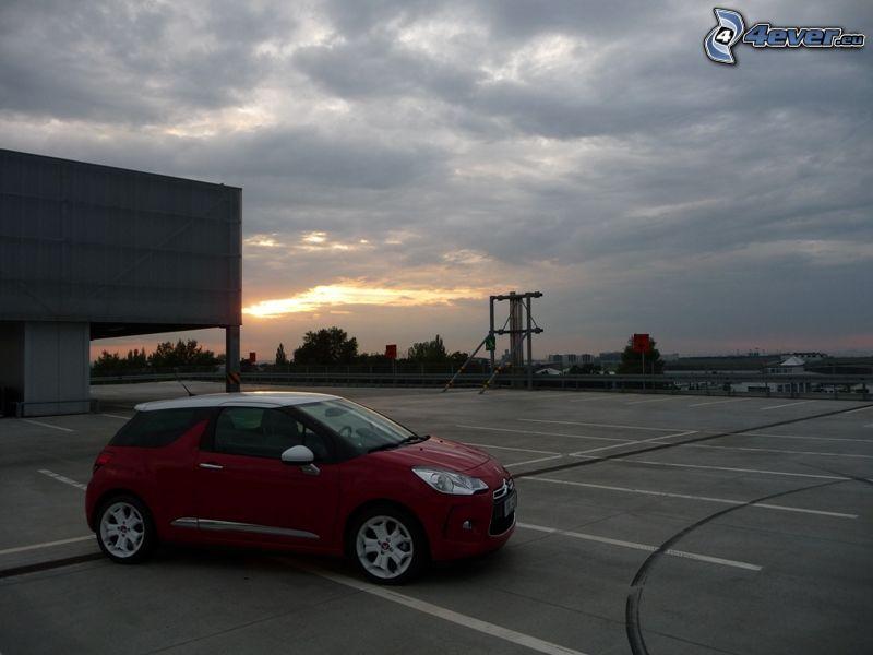 Citroën DS3 Cabrio, parking